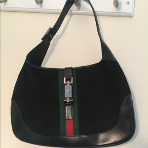Gucci Bouvier Bag Vintage Suede and Leather